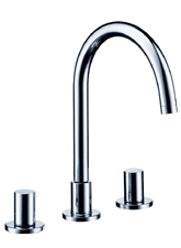 Hansgrohe 10135821 Axor Starck Widespread Lavatory Faucet - Brushed Nickel (Pictured in Chrome)
