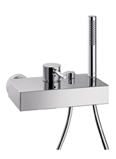 Hansgrohe 10402001 Axor Stark X Tub Filler with Personal Hand Shower - Chrome