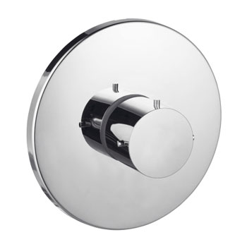 Hansgrohe 10715821 Axor Starck Thermostatic Trim - Brushed Nickel (Pictured in Chrome)