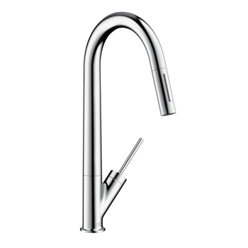 Hansgrohe 10821001 Axor Starck HighArc Pulldown Kitchen Faucet - Chrome