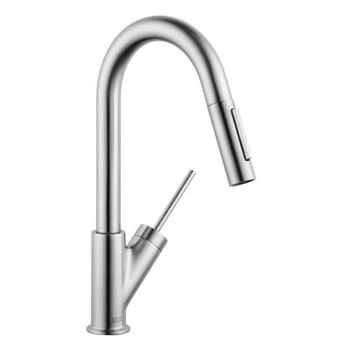 Hansgrohe 10824801 Axor Starck Prep Kitchen Faucet - Stainless Steel