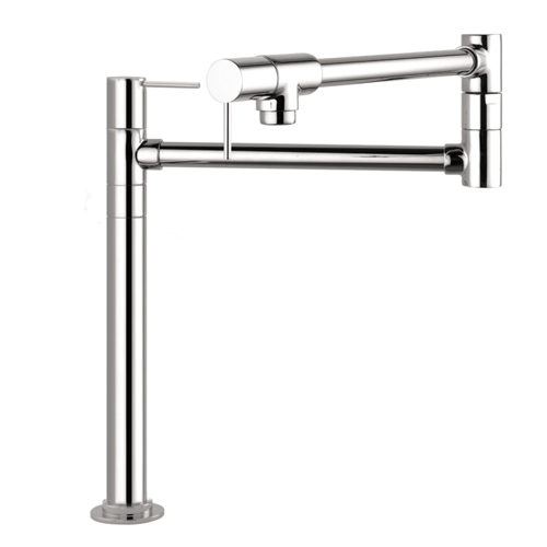 Hansgrohe 10860001 Axor Starck Deck Mounted Pot Filler - Chrome