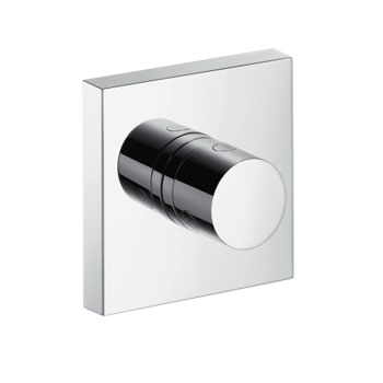 Hansgrohe 10932821 Axor Starck Trio/Quattro Volume and Divertor Valve Trim - Brushed Nickel (Pictured in Chrome)