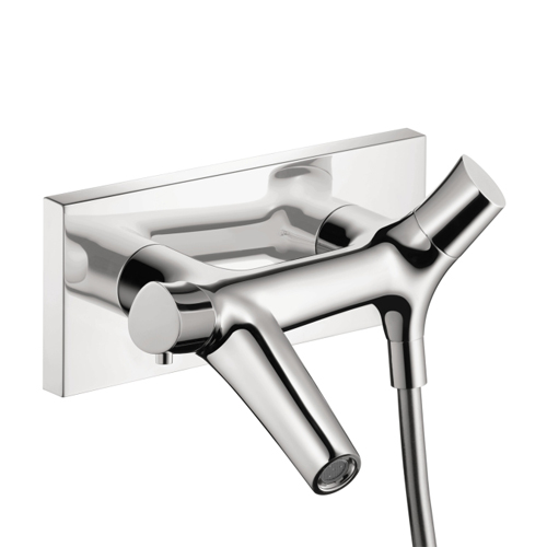 Hansgrohe 12410001 Axor Starck Organic Thermostatic Wall-Mounted Tub Filler - Chrome