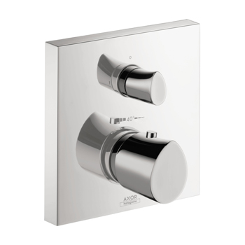 Hansgrohe 12715001 Axor Starck Organic Thermostatic Trim with Volume Control - Chrome