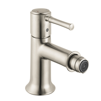 Hansgrohe 14120821 Talis C Single-Hole Bidet Faucet - Brushed Nickel