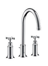 Hansgrohe 16513821 Axor Montreux Widespread Lavatory Faucet - Brushed Nickel (Pictured in Chrome)