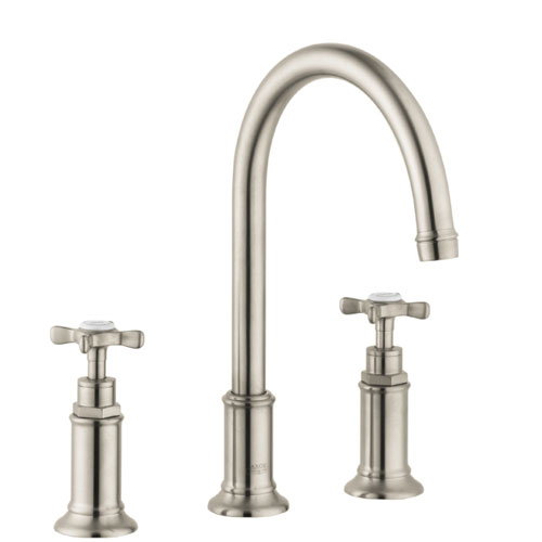 Hansgrohe 16513821 Axor Montreux Widespread Lavatory Faucet - Brushed Nickel