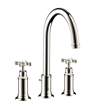 Hansgrohe 16513831 Axor Montreux Widespread Lavatory Faucet - Polished Nickel
