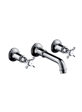 Hansgrohe 16532831 Axor Montreux Wall Mounted Widespread Lavatory Faucet - Polished Nickel (Pictured in Chrome)