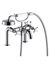 Hansgrohe 16542821 Axor Montreux Rim Mounted Tub Filler with Handshower - Brushed Nickel (Pictured in Chrome)