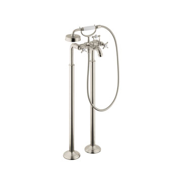 Hansgrohe 16547821 Axor Montreux Free Standing Two Handle Tub Filler - Brushed Nickel