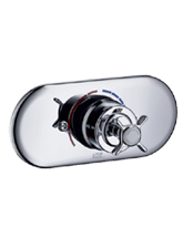 Hansgrohe 16548821 Axor Montreux Equilibruim Pressure Balance Shower Valve Trim - Brushed Nickel (Pictured in Chrome)