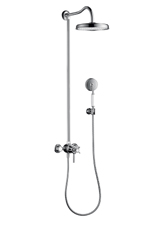 Hansgrohe 16570821 Axor Montreux Showerpipe - Brushed Nickel (Pictured in Chrome)