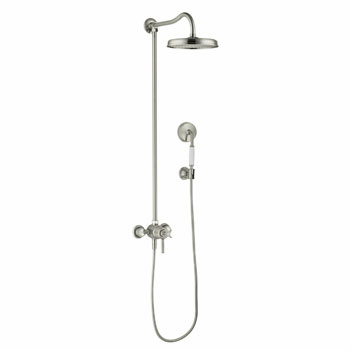 Hansgrohe 16570821 Axor Montreux Showerpipe - Brushed Nickel