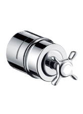 Hansgrohe 16882831 Axor Montreux Fix Fit Wall Outlet - Polished Nickel (Pictured in Chrome)