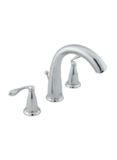 Hansgrohe 17115821 Axor Phoenix Widespread Lavatory Faucet - Brushed Nickel (Pictured in Chrome)