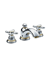 Hansgrohe 17133621 Axor Carlton Widespread Lavatory Faucet w/Cross Handles - Oil Rubbed Bronze (Pictured in Chrome/Brass)