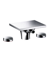 Hansgrohe 18213001 Axor Massaud Widespread Bidet Mixer - Chrome