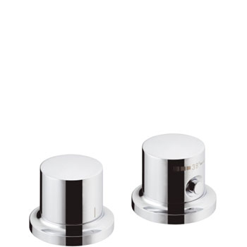 Hansgrohe 18480001 Axor Massaud Thermostatic Deck Valve Trim - Chrome