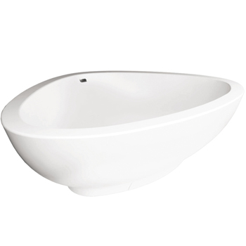 Hansgrohe 18950000 Axor Massaud Freestanding Tub - White
