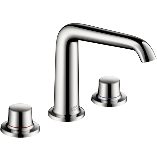 Hansgrohe 19141001 Axor Bouroullec 3-Hole Widespread Lavatory Faucet - Chrome