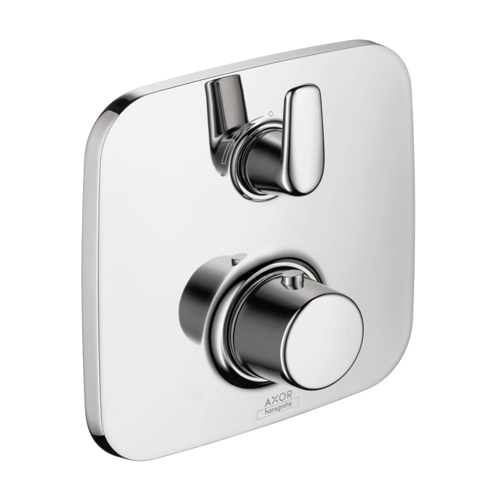 Hansgrohe 19706001 Axor Bouroullec Thermostatic Trim with Volume Control and Diverter - Chrome