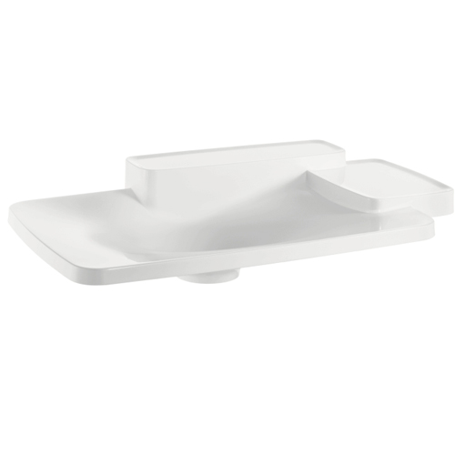 Hansgrohe 19943000 Axor Bouroullec Large Drop-In Washbasin with Two Shelves - Alpine White
