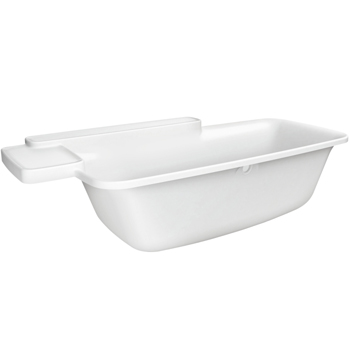 Hansgrohe 19955000 Axor Bouroullec Drop-In Bathtub - Alpine White