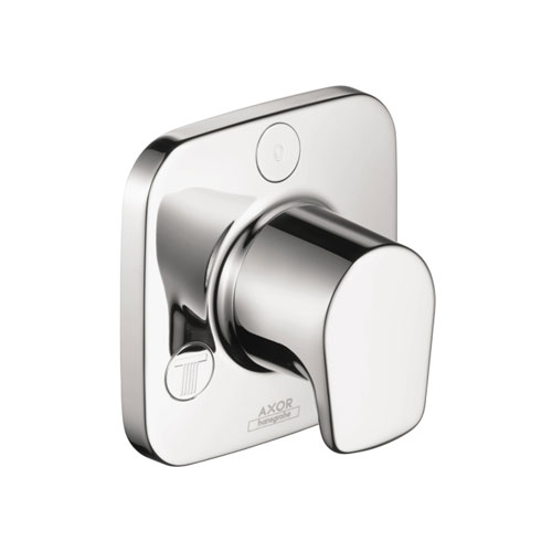 Hansgrohe 19982001 Axor Bouroullec Trio/Quattro Diverter Trim with Lever Handle - Chrome