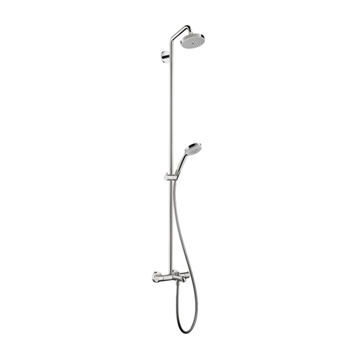 Hansgrohe 27143001 Croma Green Tub/Shower Showerpipe 2.0 GPM - Chrome