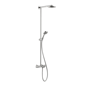 Hansgrohe 27146001 Raindance S 180 Tub/Shower Showerpipe - Chrome