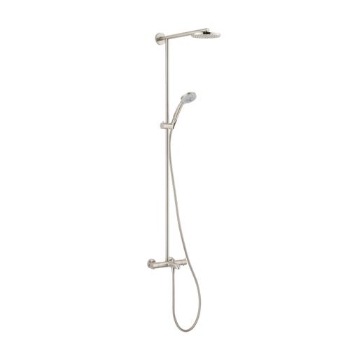 Hansgrohe 27146821 Raindance S 180 Tub/Shower Showerpipe - Brushed ...