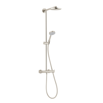 Hansgrohe 27165821 Raindance S 180 Showerpipe - Brushed Nickel