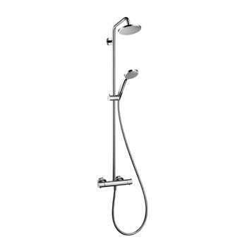 Hansgrohe 27169001 Croma Green Showerpipe 2.0 GPM - Chrome