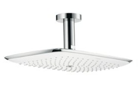 Hansgrohe 27390001 PuraVida Shower Head Only Single Function Ceiling Mount - Chrome