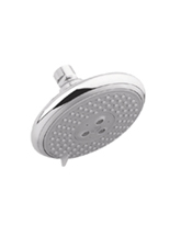 Hansgrohe 27447821 Raindance E120 AIR 3-Jet Showerhead - Brushed Nickel (Pictured in Chrome)