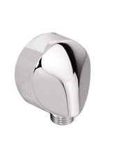 Hansgrohe 27454822 Wall Outlet - Brushed Nickel (Pictured in Chrome)