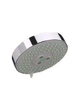 Hansgrohe 27457821 Raindance S 120 AIR 3-Jet Showerhead - Brushed Nickel (Pictured in Chrome)