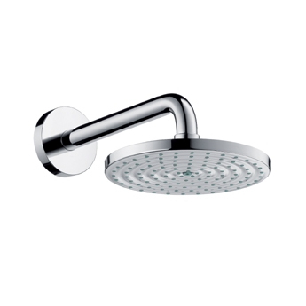 Hansgrohe 27476831 Raindance 180 AIR Showerhead - Polished Nickel (Pictured in Chrome)