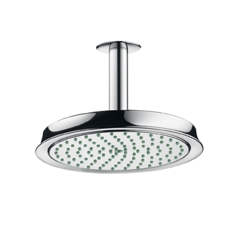 Hansgrohe 28421831 Raindance C 180 AIR Showerhead - Polished Nickel (Pictured in Chrome)