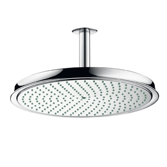 Hansgrohe 28428821 Raindance C 300 AIR Showerhead Brushed Nickel (Pictured in Chrome)
