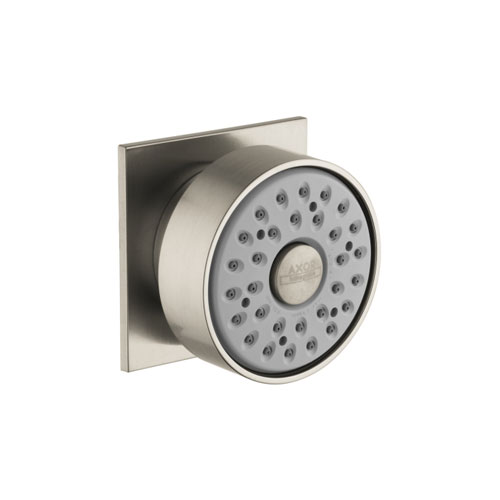 Hansgrohe 28469821 Axor Starck X Bodyspray w/Square Escutcheon - Brushed Nickel