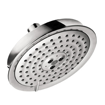 Hansgrohe 28471921 Raindance C 150 AIR 3-Jet Showerhead - Rubbed Bronze (Pictured in Chrome)