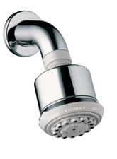 Hansgrohe 28496931 Axor Carlton Clubmaster Showerhead - Polished Brass (Pictured in Chrome w/Showerarm & Flange -- Not Included)