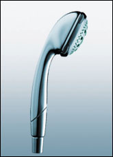 Hansgrohe 28547801 Aktiva A8 Handshower - Steel (Pictured in Chrome)