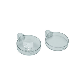 Hansgrohe 28675000 Casetta 'S Double Soap Dish - Clear