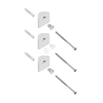 Hansgrohe 28696000 Wallbar Corner Mounting Kit