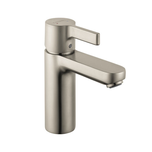 Hansgrohe 31060821 Metris Single-Hole Lavatory Mixer - Brushed Nickel