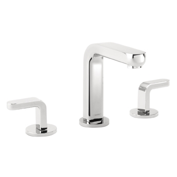Hansgrohe 31067821 Metris Widespread Lavatory Faucet with Lever Handles - Brushed Nickel (Pictured in Chrome)